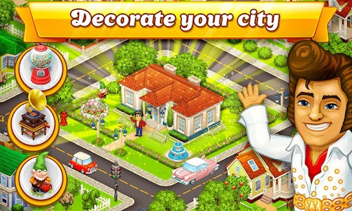 Cartoon City: farm to village. Build your home 1
