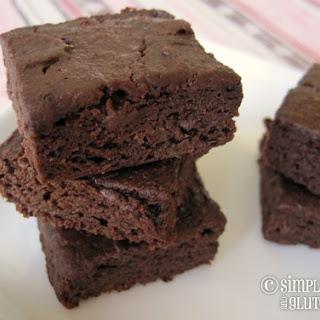 Chewy Chocolate Vegan Date Brownies.