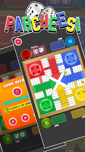 Parcheesi Best Board Game - Offline Multiplayer screenshots 2