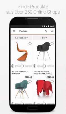 moebel.de - Möbel, Wohnen, Deko & Shopping - screenshot