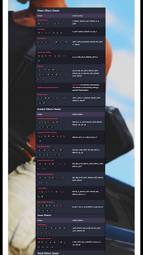 CHEAT CODES FOR GTA V screenshot 1