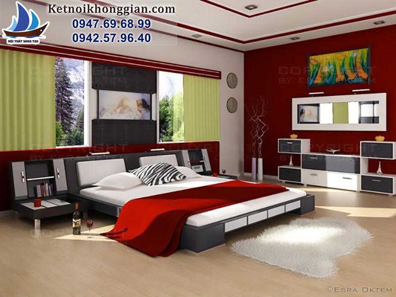 thiết kế phòng ngủ tránh nhà vệ sinh
