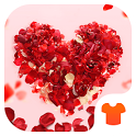 Red Heart 2018 - Love Wallpaper Theme icon