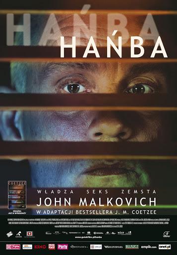 Polski plakat filmu 'Hańba'