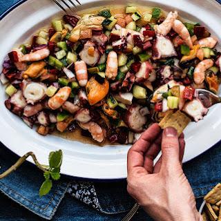 Salpicón De Marisco, Seafood Salad.