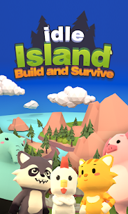 Idle Island: Build and Survive Mod Apk (Unlimited Diamonds) 1.5.1 1