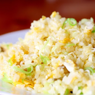 Non-Sticky Fried Rice with Golden Egg