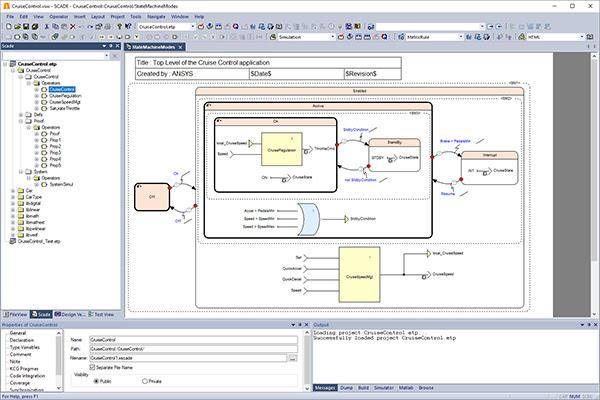 ANSYS Интегрированная среда разработки Ansys SCADE Student