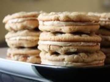 Oatmeal Peanut Butter Sandwich Cookies