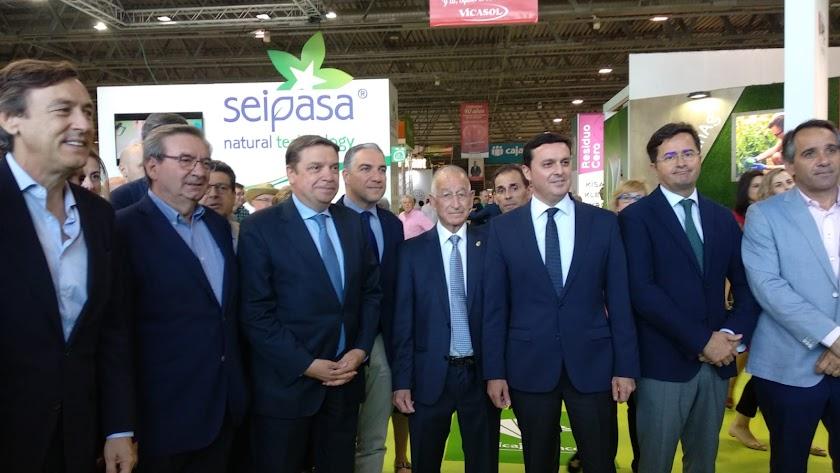 El ministro de Agricultura ha estado presente en el acto inaugural de Infoagro Exhibition.
