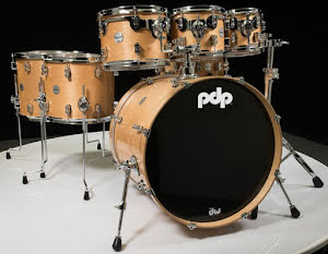 PDP Concept Maple - CM7 Shellpack - Natural Finish