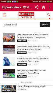 Express News - náhled
