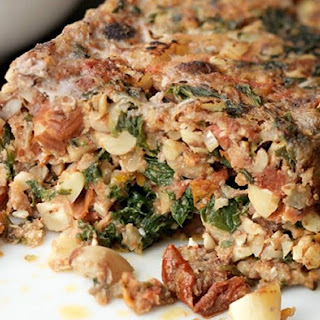 Nut And Spinach Roast