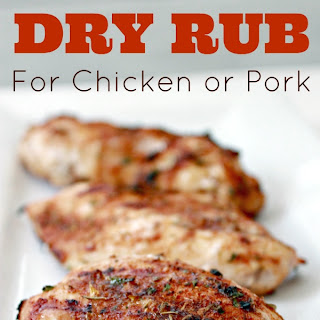 Homemade Dry Spice Rub for Chicken or Pork Recipe