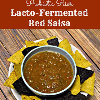 Lactofermented Red Salsa