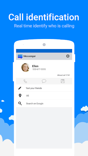 Messenger for SMS screenshot 3