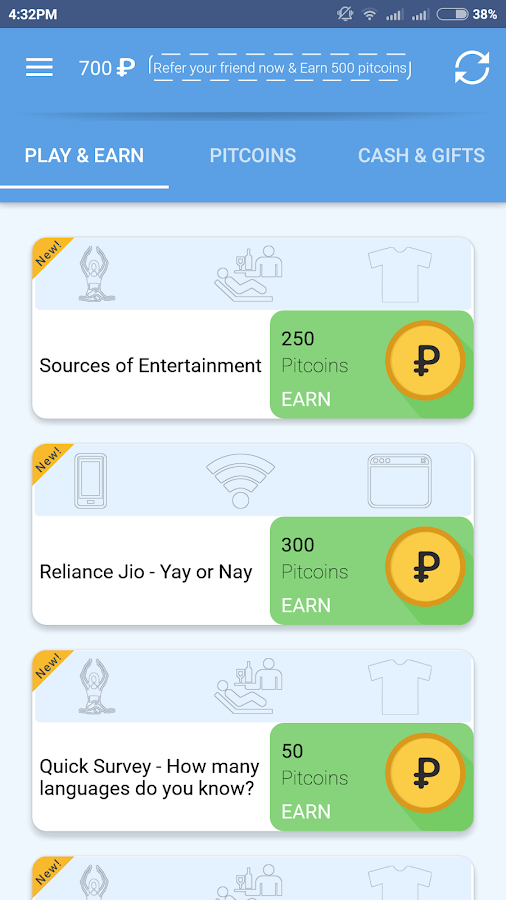 PIPIT Free Paytm Cash,Recharge- screenshot