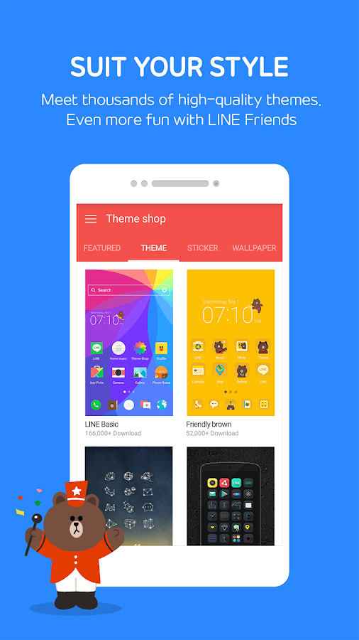 LINE Launcher- screenshot