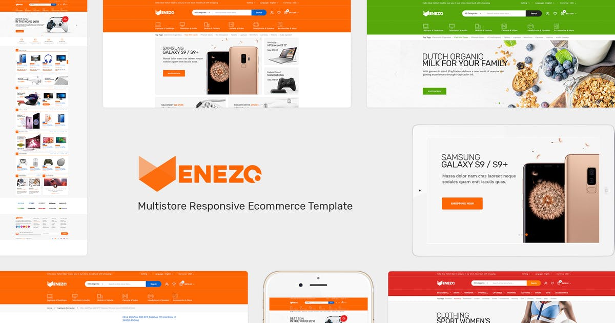 Venezo - Responsive Prestashop Theme Free Download