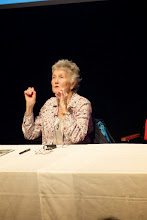 Photo: ... with Peggy Seeger at the Charles Parker Day 2014