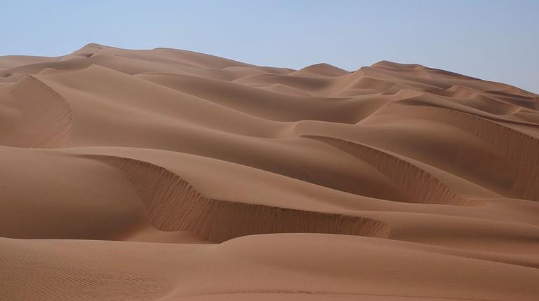 The Rub' al Khali Desert