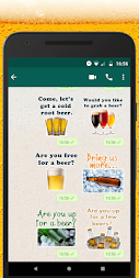 WAStickerApps beers stickers APK screenshot thumbnail 2
