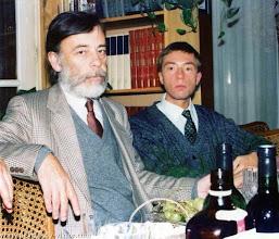 Photo: Сороковины ВПН. Лев и Никита Круглые, Ванв, 12.10.1987