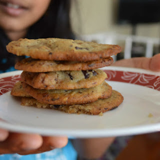 Chewy Chickpea Chocolate Chip Cookies.