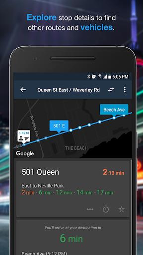 Transit Now - TTC Toronto, MBTA Boston 3.5.3 screenshots 2