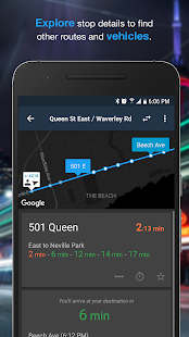 Transit Now: Bus Predictions- screenshot thumbnail