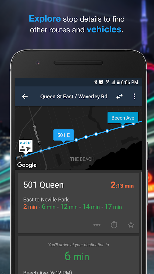 Transit Now: Bus Predictions- screenshot