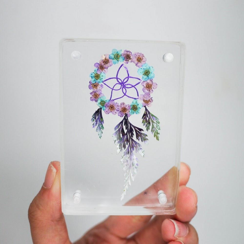 [現貨/stock] Pressed Flower Paperweight