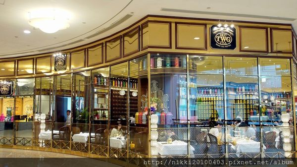 TWG Tea 101-台北101氣氛超好的下午茶餐廳推薦(TWG Tea 沙龍與精品店)