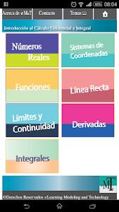 Cálculo Diferencial e Integral screenshot 0