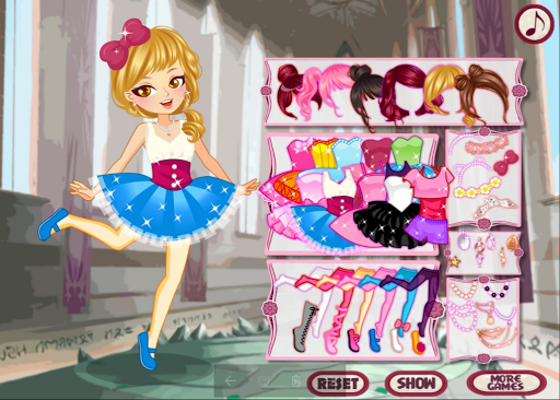 Pretty Ballet Dancer: Ballerina Dress Up Girl Game 0.0.11 screenshots 2