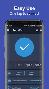 Easy VPN - Free VPN proxy master, super VPN shield Screenshot