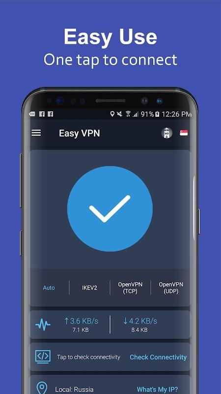 Easy VPN - Free VPN proxy master, super VPN shield screenshots
