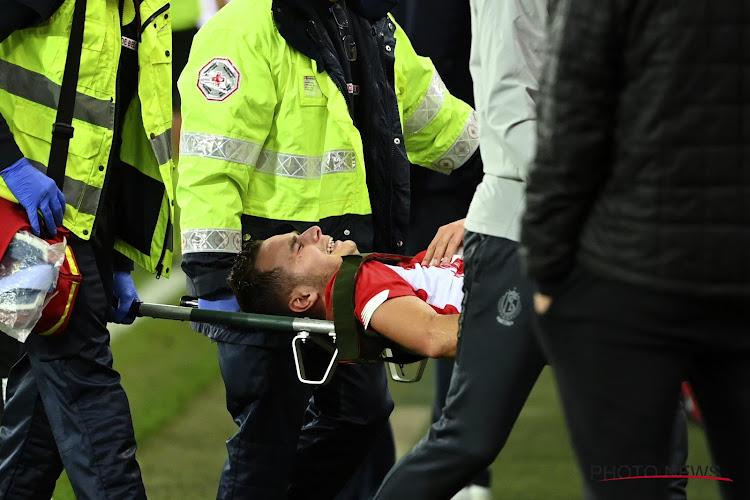 Le Standard tremble pour Zinho Vanheusden !
