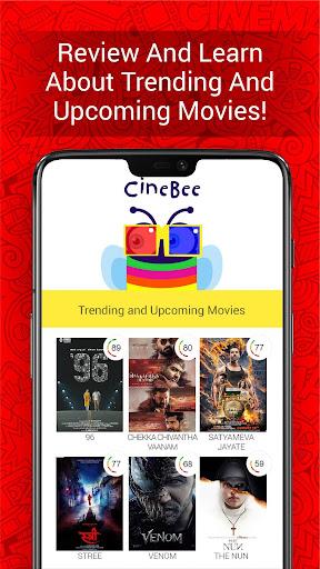 CineBee: Movie Ratings, Reviews, Trailers & News 5.8 screenshots 1