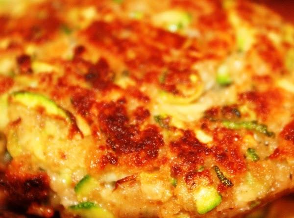 Kicked Up Zucchini Patties Recipe