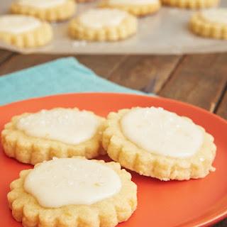 Peach Shortbread Cookies