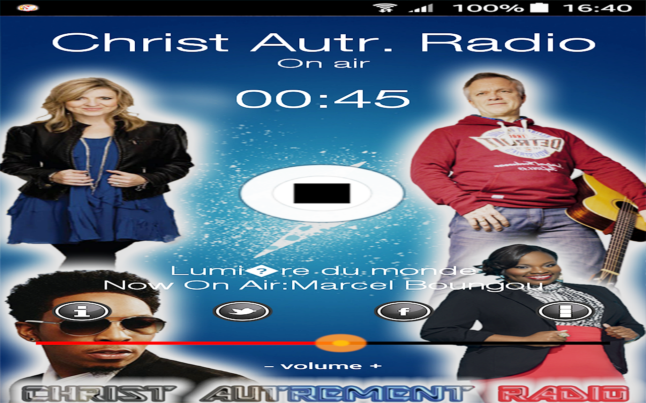 Christ Autrement Radio- screenshot