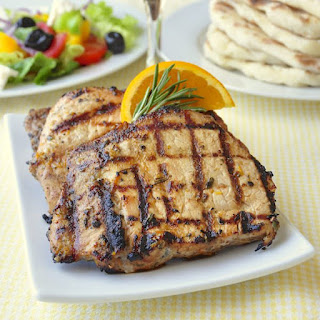 Orange Rosemary Pork Chops