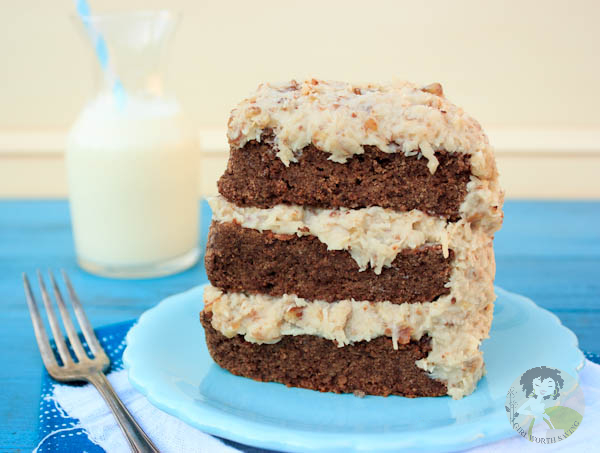 German Chocolate Cake Frosting No Evaporated Milk