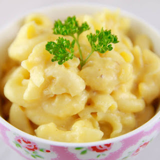 Microwave Macaroni & Cheese in a Mug Recipe