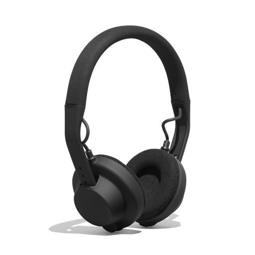Side view of AIAIAI TMA-2 MFG4 On-Ear Headphones in black
