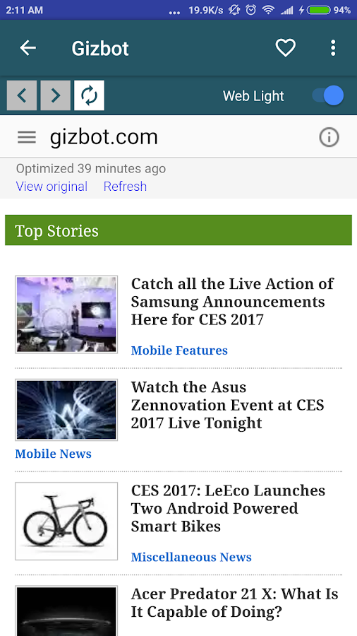 Tech News- screenshot