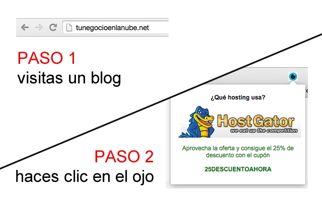 ¿Qué hosting usa este blog?