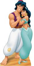 Photo: Theme Party Stand Up Prop http://www.BestPartyPlanner.net Aladdin & Jazmin Disney