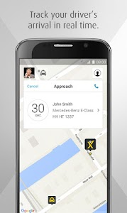 mytaxi – The Taxi App screenshot 2